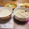 カキのミルクスープ