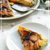 フライパンで作るパンプキンケーキ