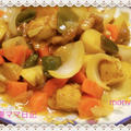 ボリューム満点「ジャガイモ入り酢鶏」 by 妻ママみかんさん