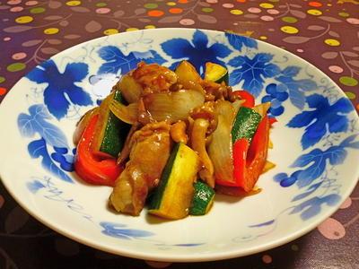 豚肉と夏野菜の回鍋肉