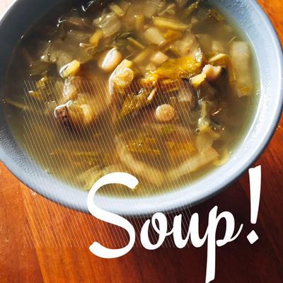 今週の野菜スープ 白菜
