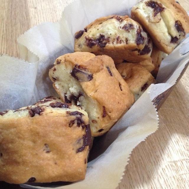 子供達を甘やかすお菓子でスコーンを 「チョコチップスコーン」