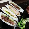 さらに殿~まきすがなくても。巻けないあなたも。手軽にサンド寿司~ by るぅさん