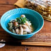 くずし豆腐の出汁きのこかけと、今日のレシピ