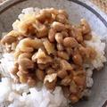 そぼろ納豆 by はるるさん
