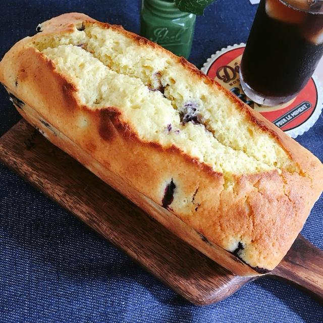 [LIMIA]ブルーベリーのクリームチーズパウンドケーキ