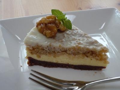 クルミのベイクドチーズケーキ & クルミのサクサクラスク