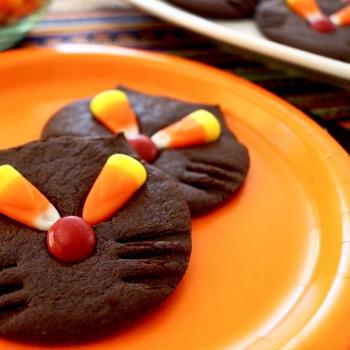 おいしい黒猫のクッキー
