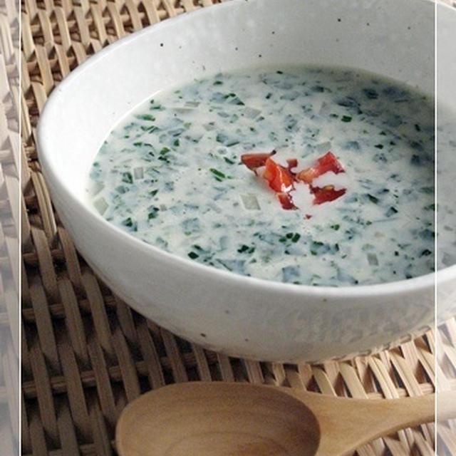 【マクロビ簡単レシピ】モロヘイヤのスープ