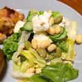 モッツァレラチーズと発芽大豆のサラダ