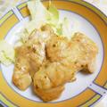 カレールーで鶏むね肉の簡単タンドリーチキン♪