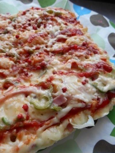 ホットケーキミックスで簡単!ピザ風蒸しパン
