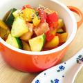 野菜ジュースで⑥☆夏野菜ラタトゥイユ