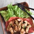 鶏むね肉なのにしっとり!麺つゆマヨで作る♪コクうまスティックチキン♪