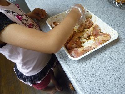 娘のお手伝い~夕飯と大好きなゴーヤー料理