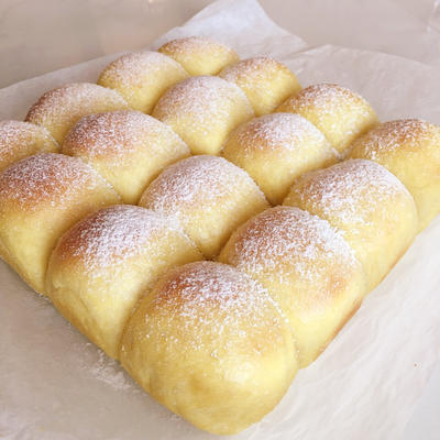 カボチャのちぎりパン