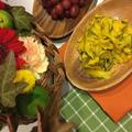 ハロウィンメニュー 鈴かぼちゃのサラダ