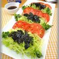 【夕飯のメニュー♪】簡単♪レタスと海苔のニンニク風味サラダ