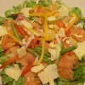 北海道の海鮮サラダが懐かしくて。。。。スモークサーモン サラダ by CatherineSさん