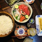 つまみ手巻き寿司・・・北海道の雲丹