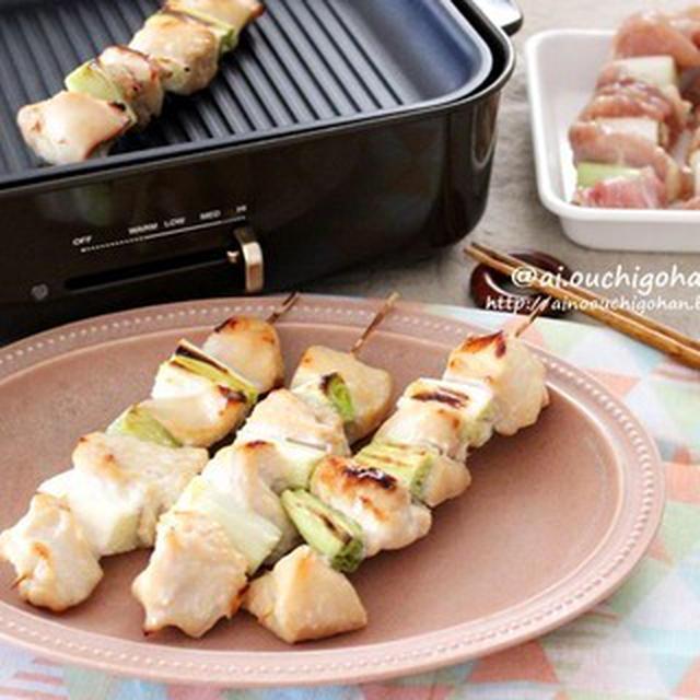 鶏むね肉も柔らか美味しい♡味付け1つ!トースターでおうち焼きとり♡