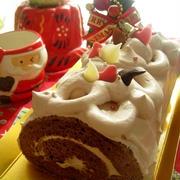 クリスマスケーキの試作