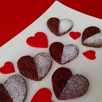 ハートのプレゼント♡『サクサク☆チョコクッキー』♡美味しいチョコの味を楽しんで♪♪