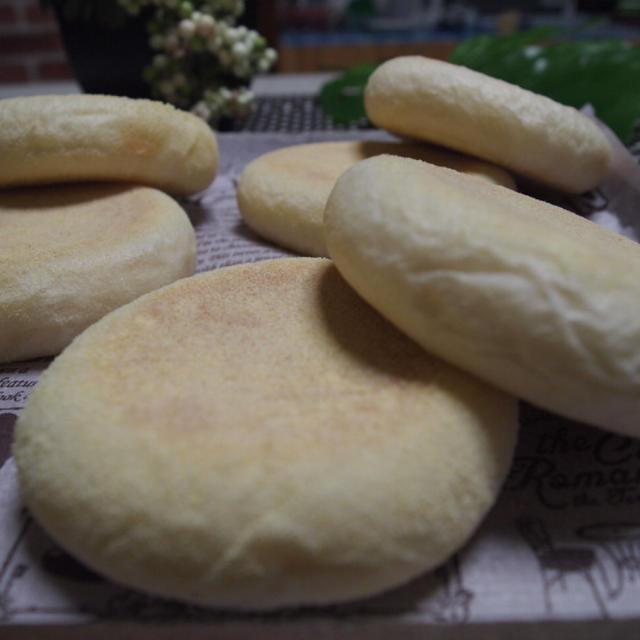 E.イングリッシュマフィン 【24日間☆ABCのパン大作戦!!】