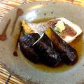 しっとり食感!茄子と鯛の焼き浸し