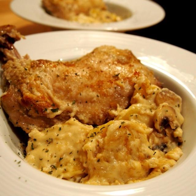 フランス料理を簡単再現!?鶏もも肉のフリカッセ♡