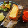 今年はじめては山食パン☆チキンのチーズ焼き♪☆♪☆♪