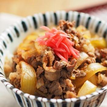 牛丼の作り方、隠し味と肉を柔らかくするコツ