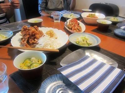 6月のお料理サロン-エコでシンプルお手軽メニュー
