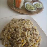 豚挽き肉生姜味チャーハン by tonさん