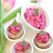 ビーツのピンクなサラダで春気分♪