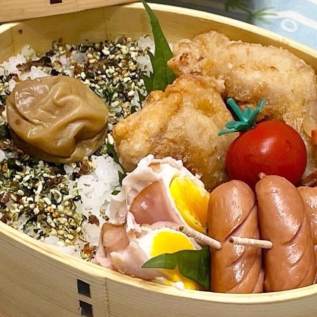 【お弁当】お弁当作り/レンチン活用/柚子胡椒唐揚げ