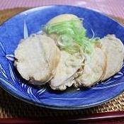 焦がしにんにくで作る鶏チャーシュー