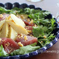 筍とかつおのサラダ*ホワイトバルサミコ+フルブラ梅 ルジェ六本木最終日です。