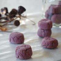 [スパイス大使レシピ]紫芋ジンジャーのぼうろ。。。