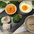 桜の塩漬け完成!!桜ごはんで春を感じる朝食です~♪♪