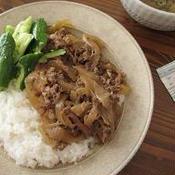 *豚肉とたまねぎのこっくり煮*