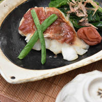美味しい魚料理レシピ 鱈(白身魚)の梅焼き