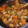 冷凍唐揚げで作る「酢鶏」