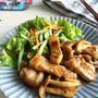 下味不要♪10分レシピ【豚ロースとしめじのスタミナソースソテー】簡単*作り置き*お弁当おかず