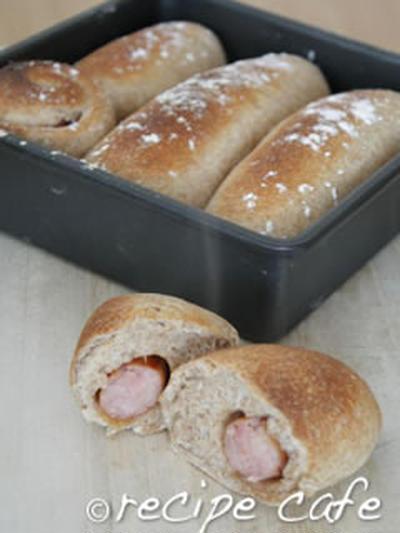 小麦ふすま(ブラン)のパン