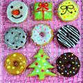 クリスマス★醤油ときな粉の焼きドーナッツ