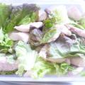 時短!塩鶏チャーシュー風サラダで!お花見弁当★