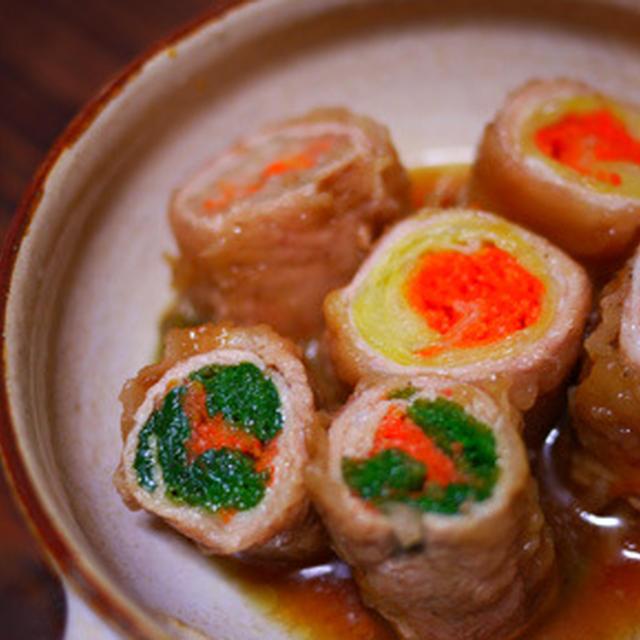 野菜の豚肉ロール