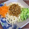 和風調味料で炸醤麺(ジャージアン麺)
