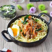 20分で2品完成 ビビンバと韓国風スープ の巻